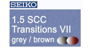 SEIKO 1.5 Transitions VII SCC